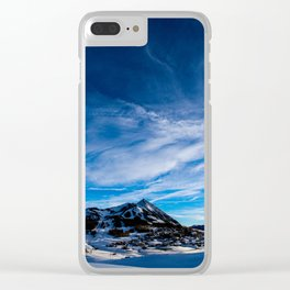Wispy Clouds Above Crested Butte, Colorado. Clear iPhone Case