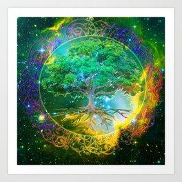 Tree of Life Wellness Art Print