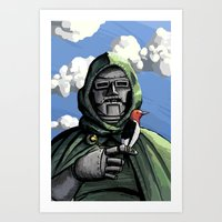 doom Art Prints featuring Doom by David Comito