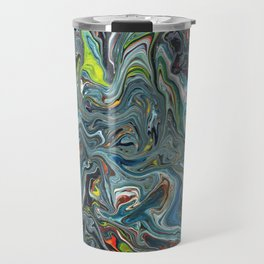 Abstract Oil Painting 24 Travel Mug