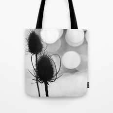 Teasel Silhouette Tote Bag