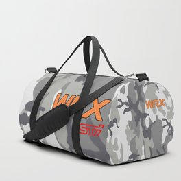 WRX Orange Urban Camo Duffle Bag