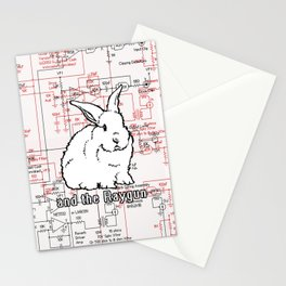 Rabbit, Rabbit, Rabbit Stationery Cards