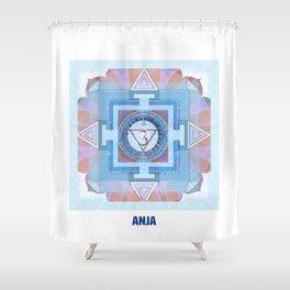 Sixth Chakra Third Eye (Anja) (Chakra Series) #6 Shower Curtain