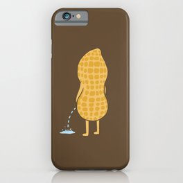 Peenut (brown) iPhone Case