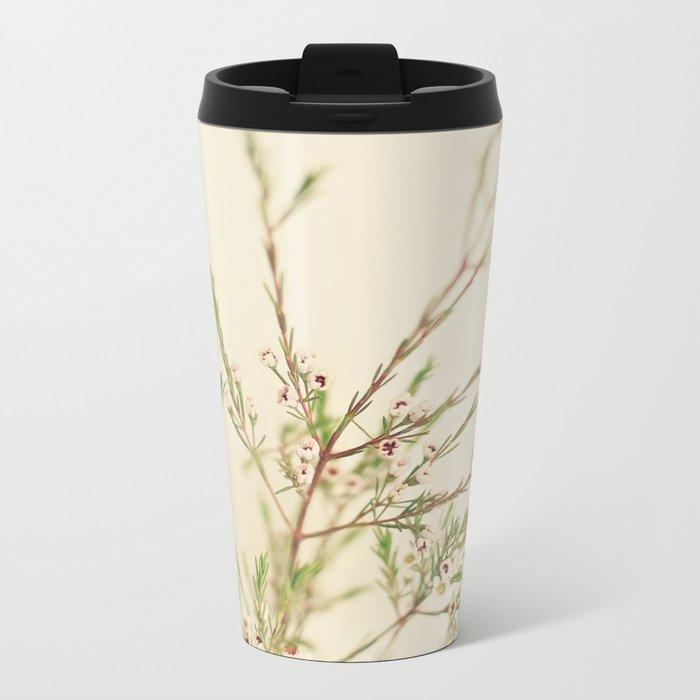 Waxflower Metal Travel Mug