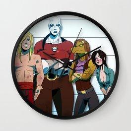 """""""The Salsa City Switcheroo"""" - Dungeons & Doritos Wall Clock"""