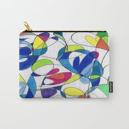 Spectrum Abstract #2 Carry-All Pouch