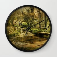 ford Wall Clocks featuring Hunworth Ford by J Coe Photography