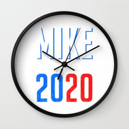 Mike Bloommberg 2020 Campaign For President T-shirt Design Presidency Politics White House Election Wall Clock