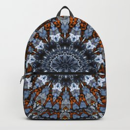 Jeans mandala with memories in details Backpack