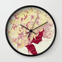 Concealed Dreams Wall Clock
