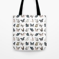 Butterfly Pattern 8 X 8 Tote Bag