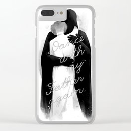 one last dance Clear iPhone Case