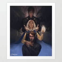 Darkness & Light Art Print