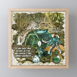 Mad Hatter Framed Mini Art Print