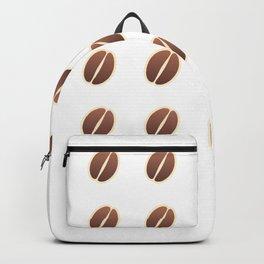 Tasty coffee seamless pattern Backpack