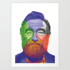 The Great RW Art Print