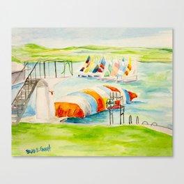 Camp Longhorn - The Blob Canvas Print