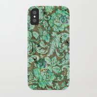 flower pattern iPhone & iPod Cases featuring Flower pattern by nicky2342