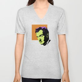 Vincent Price (Colour) Unisex V-Neck