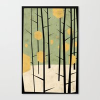 yetiland Canvas Prints featuring Yeti Dreams by Yetiland