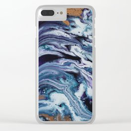 Number 76 Clear iPhone Case