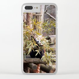 Ailurus Fulgens II Clear iPhone Case
