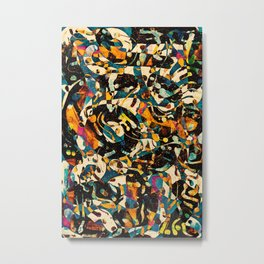 Pattern № 100 Metal Print