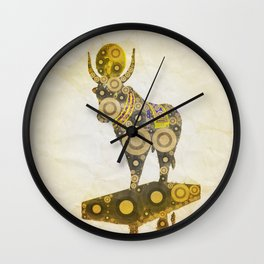 Apis Bull, God of Egypt Wall Clock