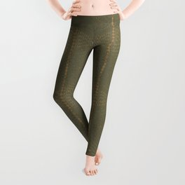 Army Burlap Leggings