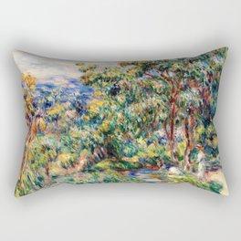 Pierre-Auguste Renoir - Le Beal - Digital Remastered Edition Rectangular Pillow