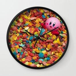 Kirby Pebbles Wall Clock