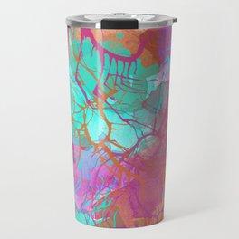 color splatter Travel Mug