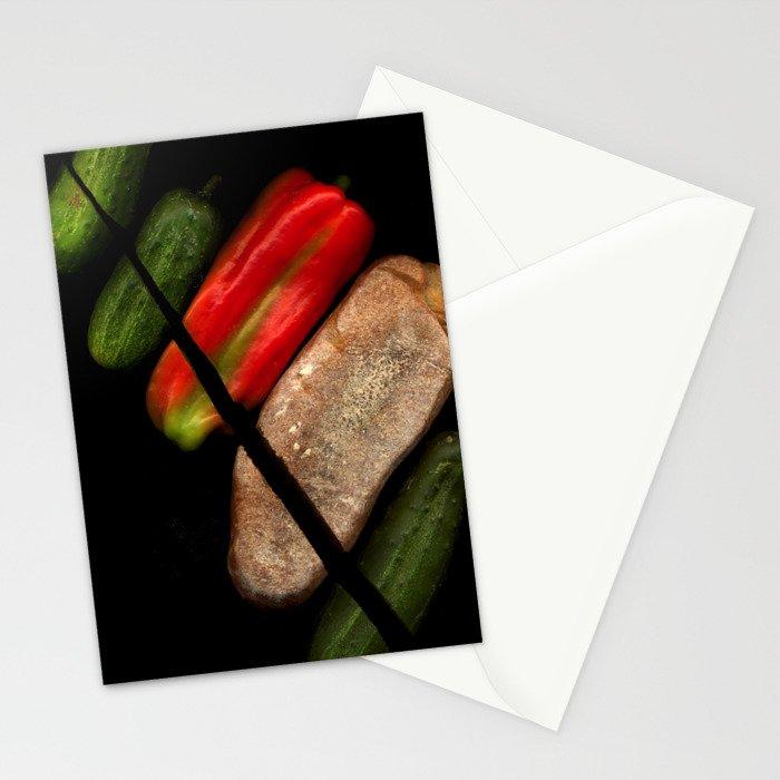 Chopped Salad Stationery Cards