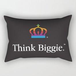 THINK BIGGIE Rectangular Pillow