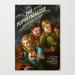 The PuppetMaster Canvas Print