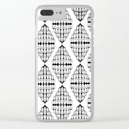 heads on heads Clear iPhone Case