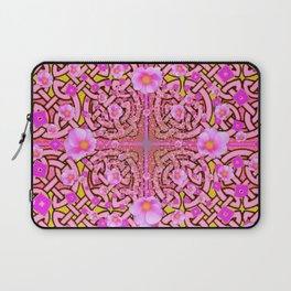 MYSTIC PINK CELTIC ROSE ART Laptop Sleeve
