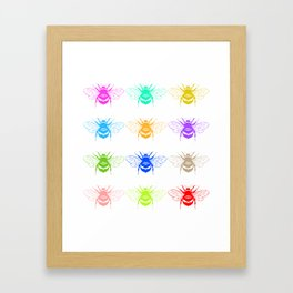 Honey Seekers  Framed Art Print