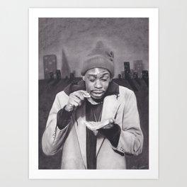 Tyrone Biggums, Dave Chappelle Art Print