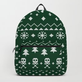 Christmas Sweater Backpack