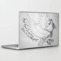 jack sparrow Laptop & iPad Skins featuring Captain Jack SPARROW by Evanne Deatherage