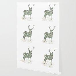 Woodland Deer Wallpaper