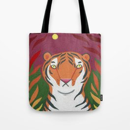 Fire Tiger Tote Bag