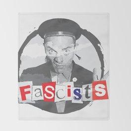 FASCISTS Throw Blanket