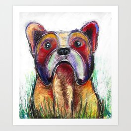 French Bulldog Art Art Print