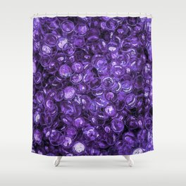 Pebbles By The Sea Shower Curtain