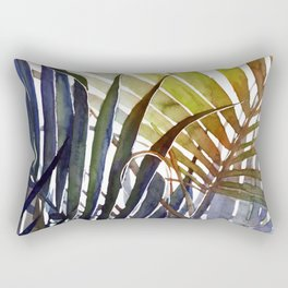 Arecaceae - household jungle #3 Rectangular Pillow