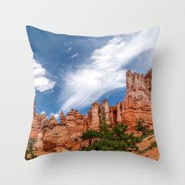 Bryce Canyon National Park Hoodoos Throw Pillow